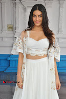 Telugu Actress Amyra Dastur Stills in White Skirt and Blouse at Anandi Indira Production LLP Production no 1 Opening  0130.JPG