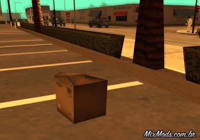 caixas suprimentos gta sa mod
