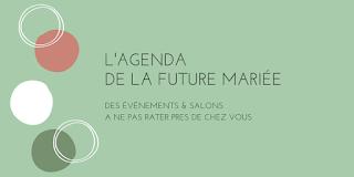 agenda salons du mariage en Rhône Alpes blog mariage www.unjourmonprinceviendra26.com