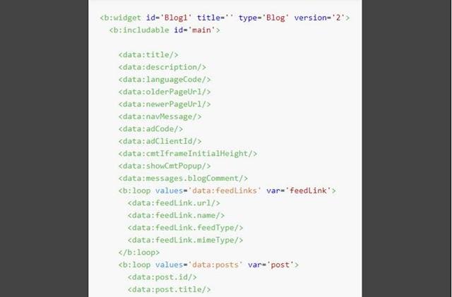 Tổng hợp các loại thẻ dữ liệu mặc định của Blog