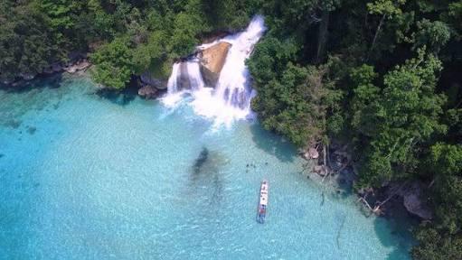 Air Terjun Kiti Kiti, Pesona Keindahan Alam Tersembunyi di Papua