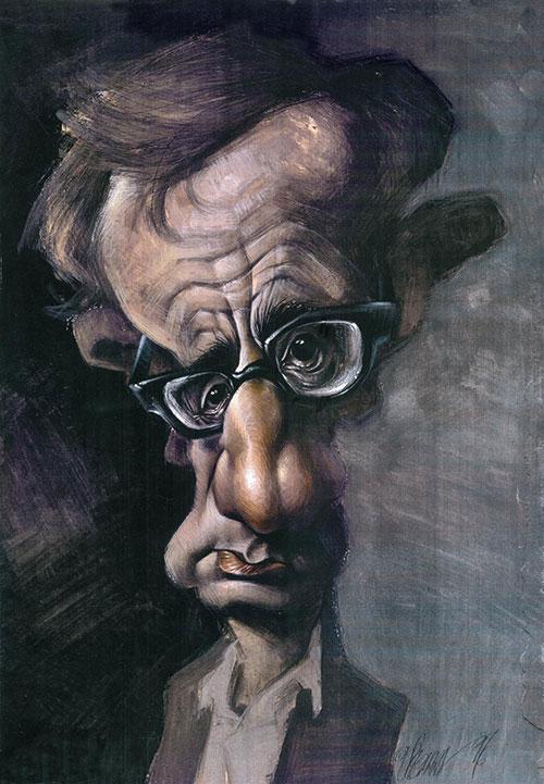 """""""Woody Allen"""" por Joan Vizcarra"""