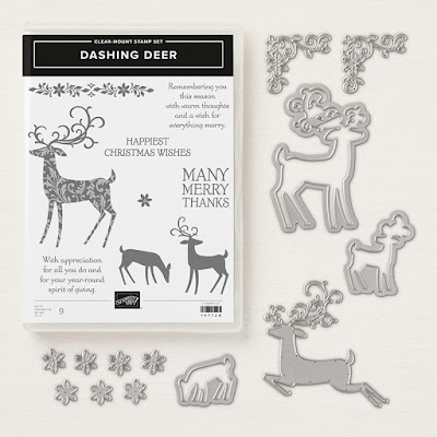 Craftyduckydoodah!, Stampin' Up! UK Independent  Demonstrator Susan Simpson, Dashing Deer, Supplies available 24/7 from my online store, Bendy Cards,
