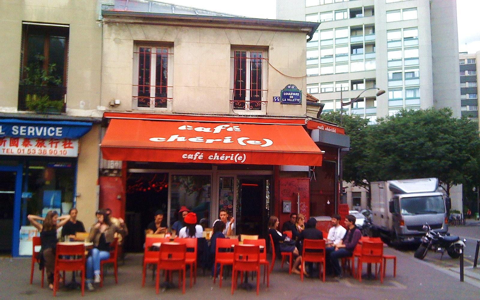 Cafe Trottoir Paris