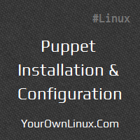 puppet-installation-configuration