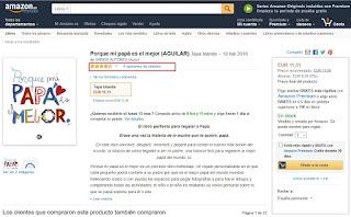 Amazon - contenido secundario - opiniones sobre el libro