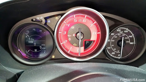 124 Spider Abarth Instrument Cluster