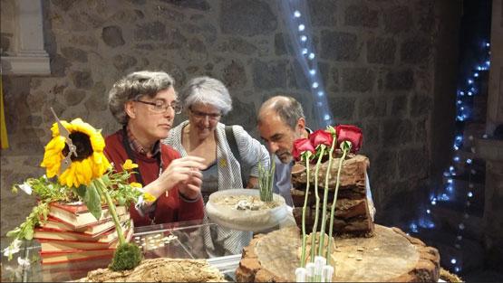 Maria Mercè Roca a La Plaquetona-Temps de Flors