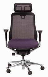 Symbian High Back Mesh Chair by Eurotech Seating