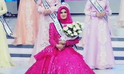 Biodata Nurul Bashirah Si Pemenang Puteri Muslimah Indonesia 2019