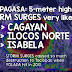 PAGASA warns 5-meter high STORM SURGES as Super Typhoon Lawin nears Philippines