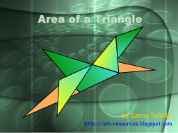 Area of a Triangle - Smart Boards Interactive Notebook  lesson