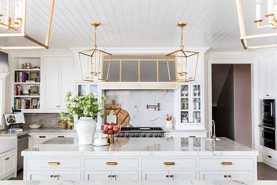 Kitchen Reveal from The Ivory Lane