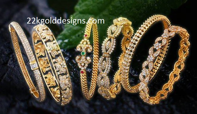Kirtilals Diamond Bangle Designs