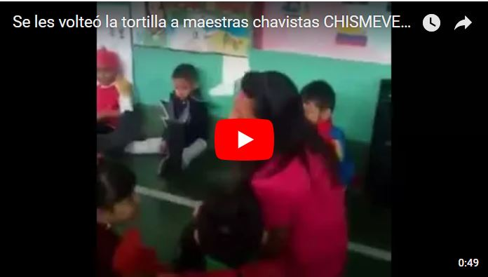 Se les volteó la tortilla a estas maestras chavistas