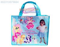 tas ultah murah,tas ultah anak,souvenir ultah,tas ulang tahun,goodie bag ultah,tas little pony,tas ultah pony