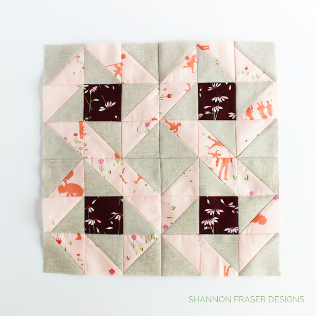 Sewcial Bee Sampler Quilt Along Block | Q4 2017 Finish-A-Long Proposed Quilt Projects | Shannon Fraser Designs | Modern Quilting | Quilt Community |