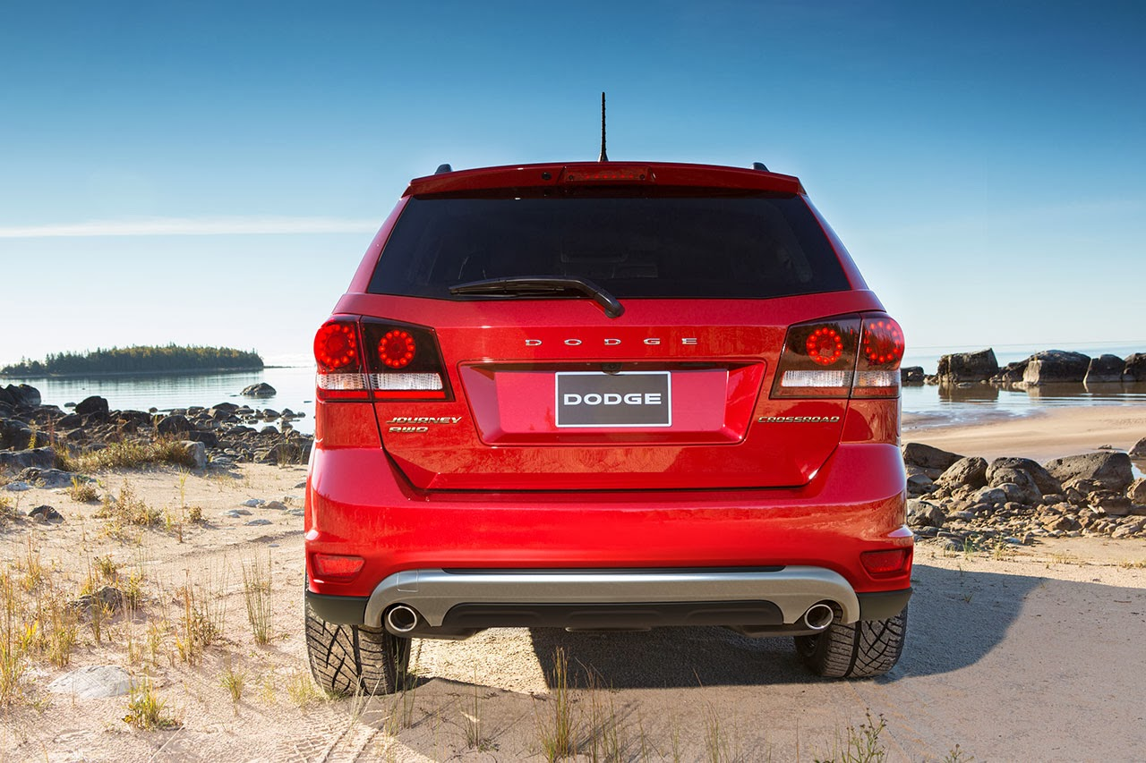 2014 Dodge Journey Crossroad rear