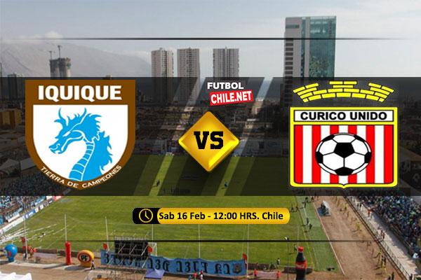 PREVIA: Deportes Iquique vs Curicó Unido