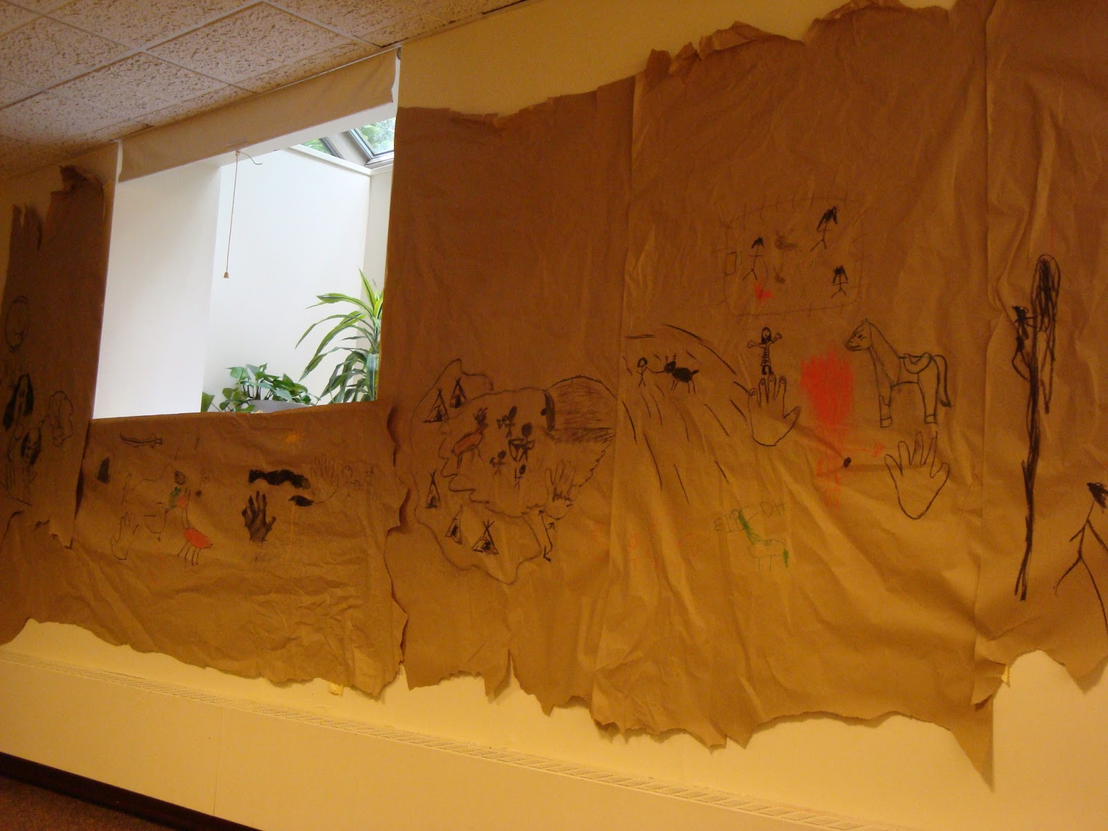 The Children S Room Cave Paintings Discovered At The