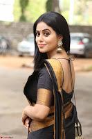 Poorna in Cute Backless Choli Saree Stunning Beauty at Avantika Movie platinum Disc Function ~  Exclusive 044.JPG