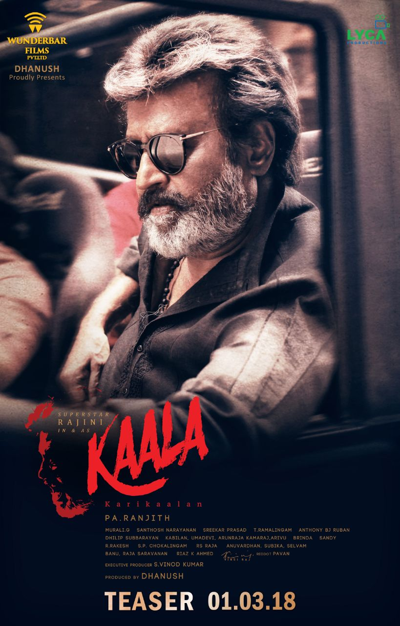 Kaala (2018) Dual Audio Hindi NEW 450MB Pre-DVDRip 480p x264