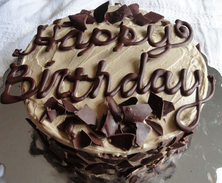 Happy Birthday Chocolate Cake Cake Magazine