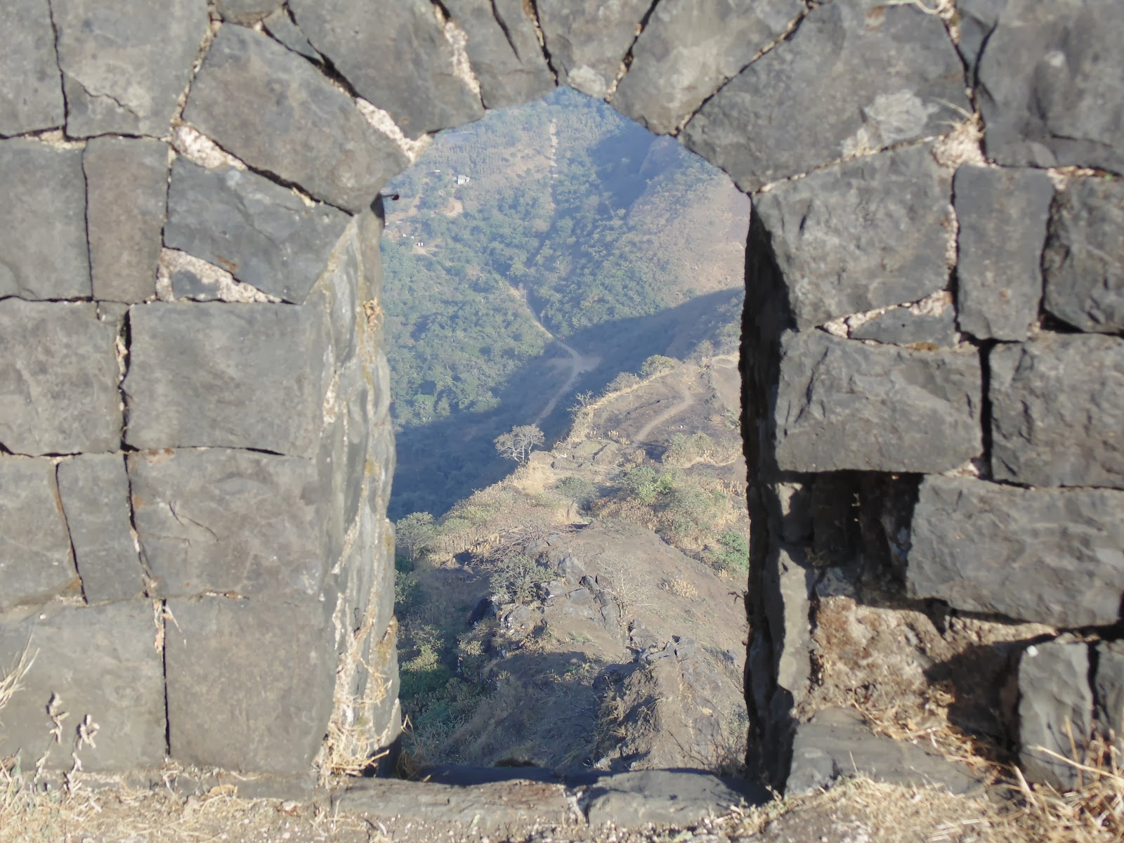 Tikona fort near pune
