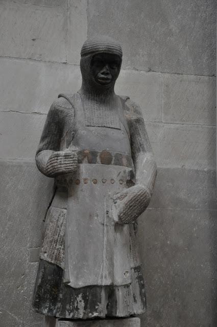 Rzeźba Św. Maurycego w katedrze w Magdeburgu
