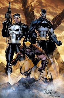 Punisher+Batman+Wolverine+Jim+Lee