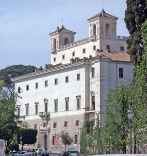 The Villa Medici, where Della Bella lived during his time working for the Medici family in Rome