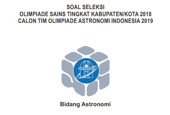Osn pdf soal astronomi