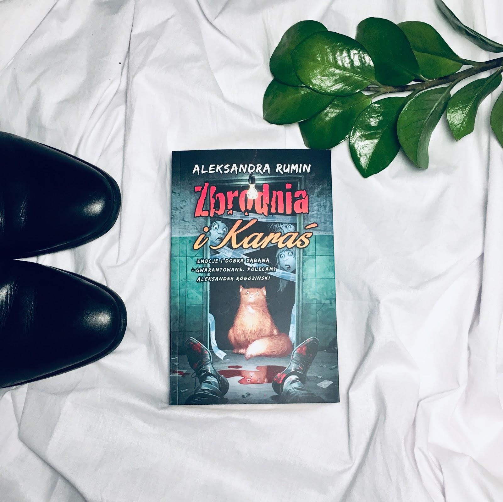 Zbrodnia i Karaś – Aleksandra Rumin. Zapowiedź