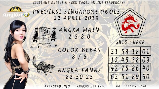 Prediksi Angka Jitu SINGAPORE POOLS 22 APRIL 2019