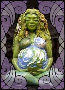 Estátua de Gaia, Deusa Mãe