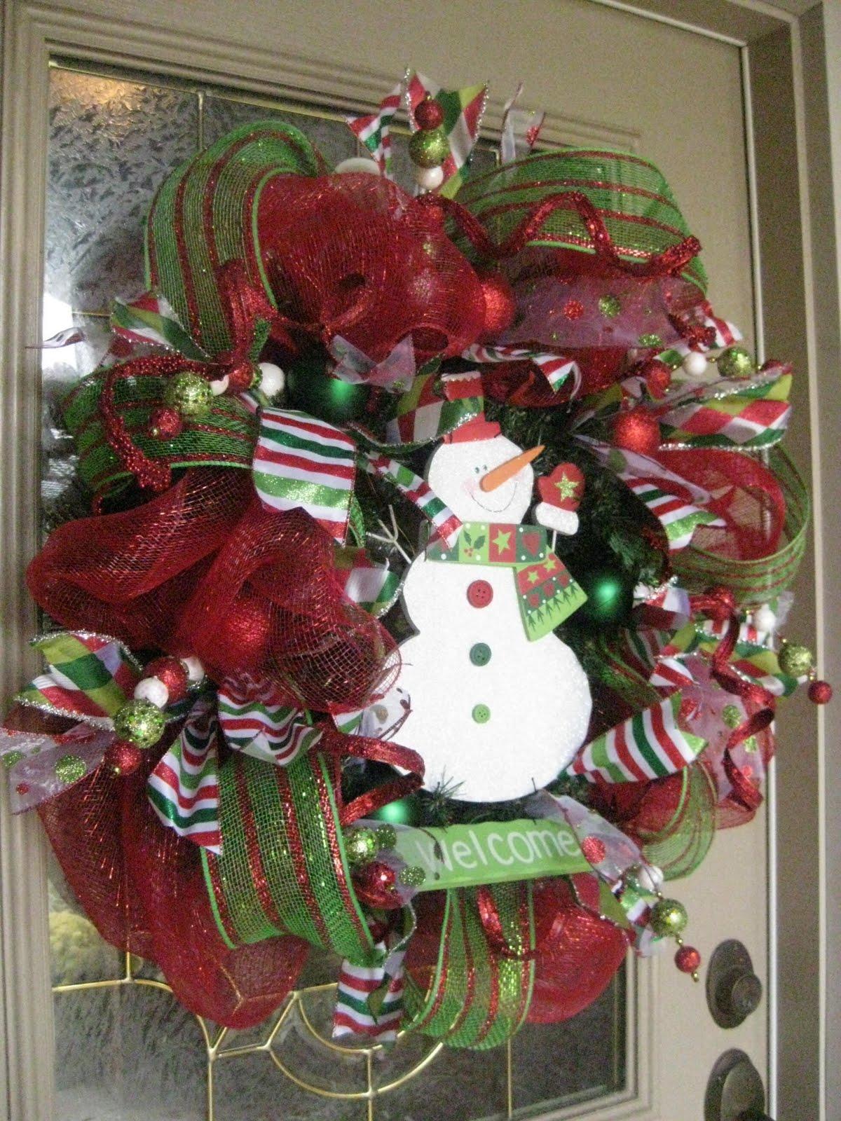 Mesh How Do Step Wreaths Step Christmas You Make