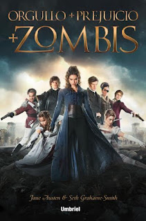 Orgullo y prejuicio y zombies de Seth Grahame-Smith