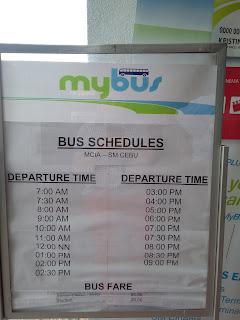 mybus schedule Cebu