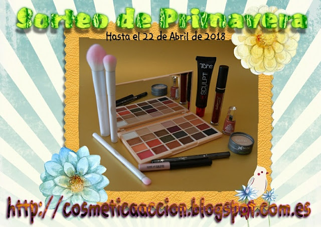 ¡SORTEO de Primavera: Makeup Revolution, Make Up For Ever, Ciaté, Mavala, Bellápierre, etc.!