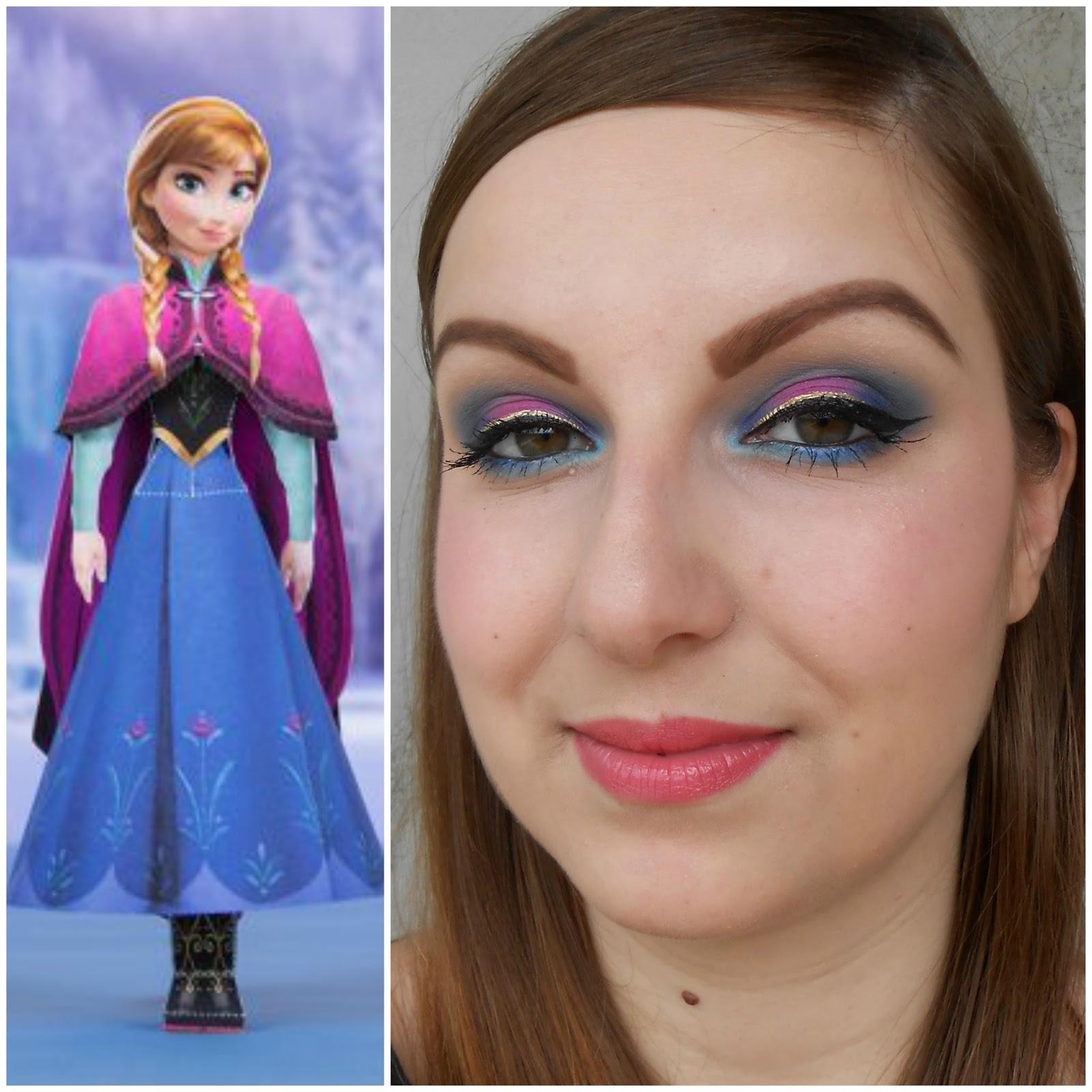 Makeup by anna the world of make up anna frozen makeup you mugeek vidalondon baditri Image collections