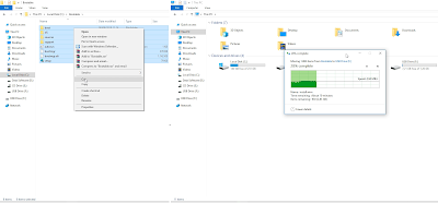 Copy installer Windows 10 to Bootable Flashdisk