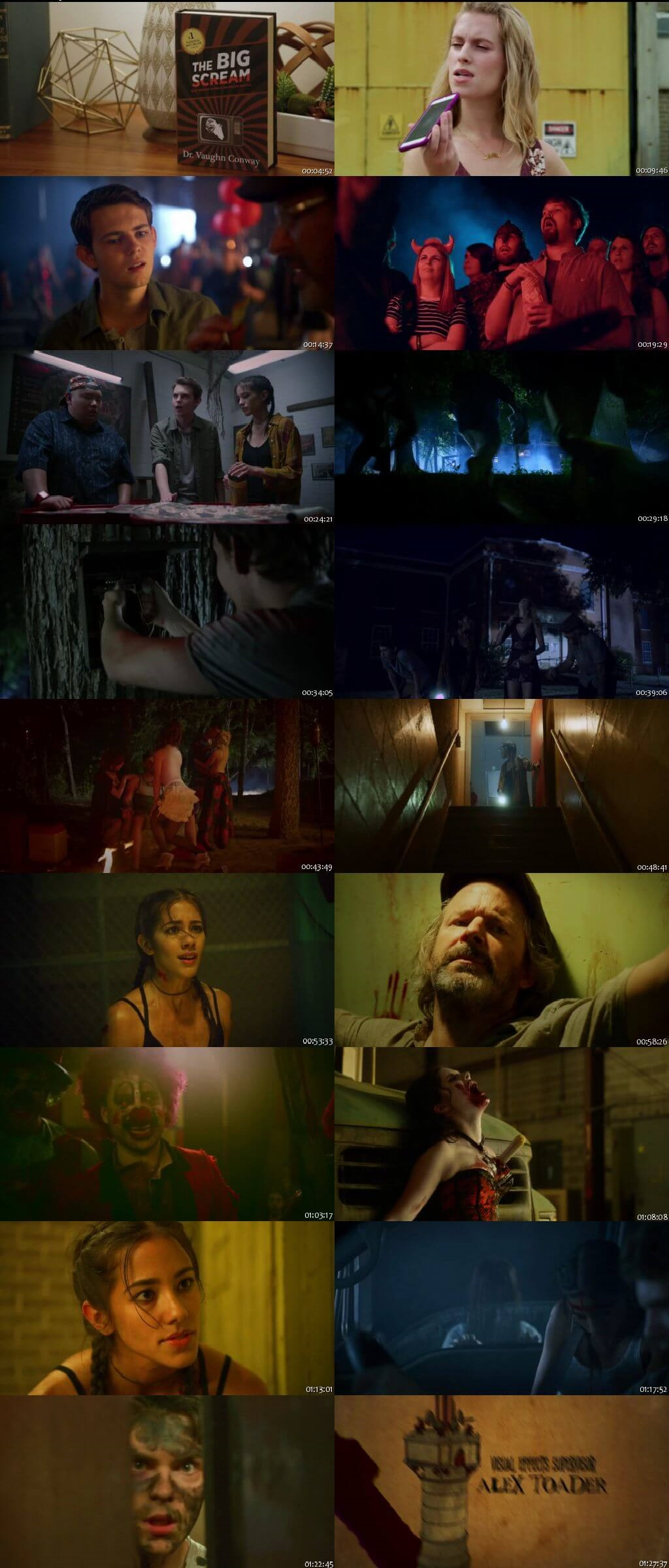 Screen Shot Of Blood Fest 2018 Full Movie Download Free Watch Online 300MB