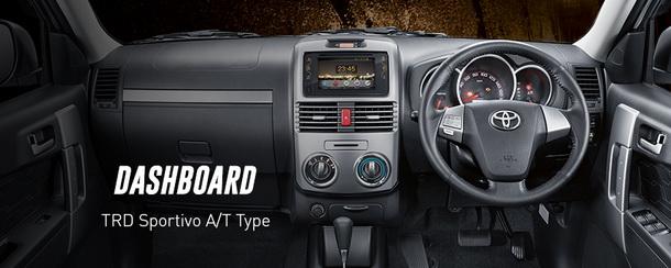 Dashboard Toyota New Rush