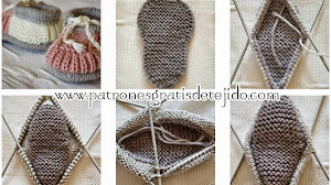 Patucos tricot paso a paso en fotos y video