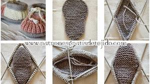 Patucos tricot paso a paso en fotos y video