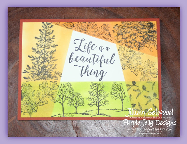 Lovely as a Tree Retiform card