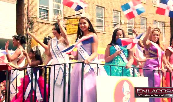 Video: Desfile Dominicano de Paterson, NJ 2013