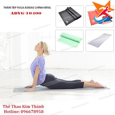 Phân biệt thảm tập yoga Adidas chính hãng