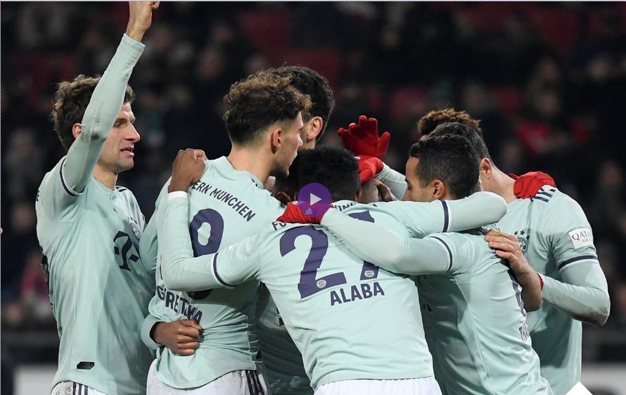 ملخص واهداف مباراة هانوفر وبايرن ميونيخ 0 : 4 السبت 15-12-2018