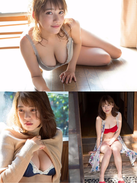 Tomaru Sayaka 都丸沙也華 FRIDAY Dynamite May 2017 Pics